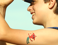 Space Designer Temporary Tattoos - Gumtoo