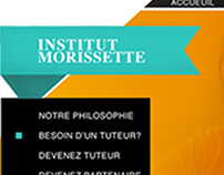 INTERFACE WEB POUR UN CENTRE DE TUTORAT