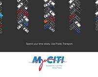 MiCiti Public Transport - Posters (2012)