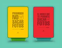 CaixaForum Barcelona: 'Prohibido no sacar fotos'