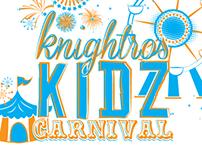 Knightros Kidz Carnival T-shirt Design