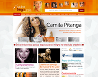 Site Mulher Negra e Cia