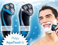 Philips AquaTouch Mailing Design