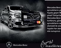 Mercedes-Benz Card Mailing Design