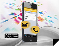 Renault Road Help APP Mailing Design