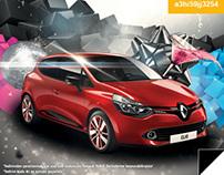 Renault Happy Birthday Mailing Design
