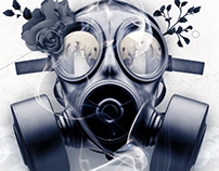 Gas Mask -  Bank Holiday Poster