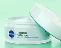 NIVEA Natural Balance Product 3D visualization (Octane)