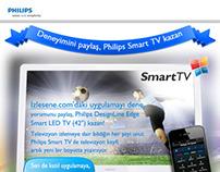 Philips Smart TV Facebook Application Design