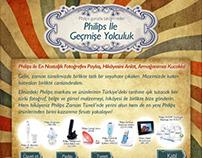 Philips Timeline Facebook Application Design