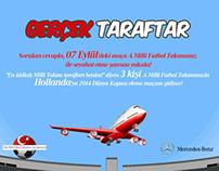 Turkish A Football Team Facebook Application Design