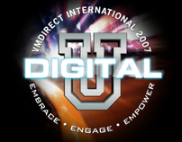 Digital U 3D Logo