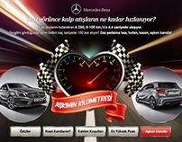 Mercedes-Benz Valentine's Facebook Application Design