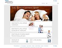 Philips Respironics Turkey Website Design