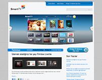 Philips TV Turkey Blog Website Design