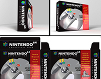 Packaging Nintendo Joypad