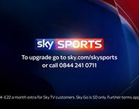 Sky Sports Sampling Day Promo