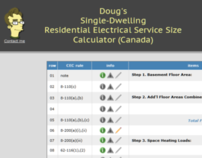 Electrical Panel Sizing Calculator