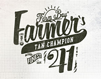 Farm Boy Typographic Illustrations