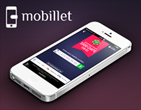 Mobile payments widget for in-app purchases