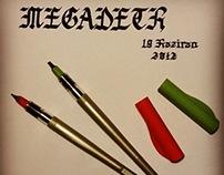 Megadeth Typography - Calligraphy Writing