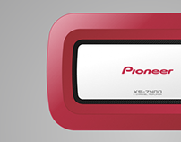 Pioneer Car Amplifier