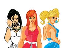 My famous Ladies