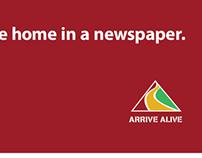 Arrive Alive - Billboard (2012)