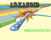 Teste de jogo estilo Arkanoid