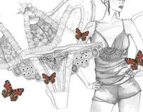 Lingerie Illustrations
