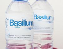 Basilium Water - Labels
