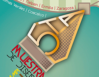 """Cartel """"5ta Muestra de Diseño Gráfico"""""""