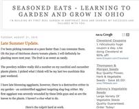 Seasoned Eats - My Blog