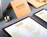 CORE - Bar/Restaurant Branding