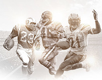 San Diego Chargers 50th Anniversary Prints