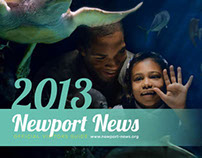 Re Design of Newport News Visitors Guide