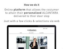 Product Service System: myAlcantara