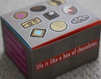 Life Is Like A Box Of Chocolates packaging