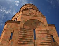 St. Martyrs Church | Poklonnaya Gora, Moscow, Russia