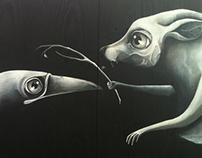 Mural At Montrose Proper.