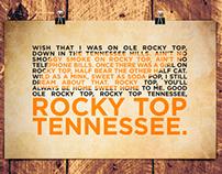 Rocky Top Print
