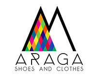 Araga shoes and clothes