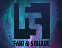 fair and square - logo design