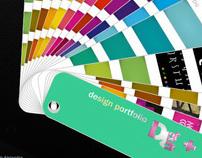 Colores lado-b, design portfolio