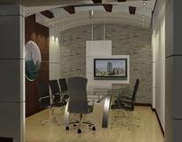 Meeting Area Interior Design, by Kafeel Hussain Khan