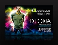 Flyer DJ OXIA