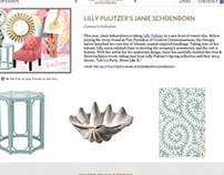 E-mail Banner & Copy for Lilly Pulitzer-themed Sale