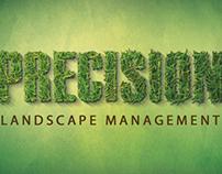 Precision Landscape Management Branding