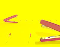 3D Modelling & Animation - Stapler