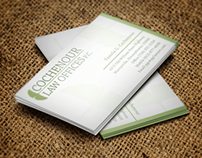 Cochenour Law Offices: Logo & Stationery